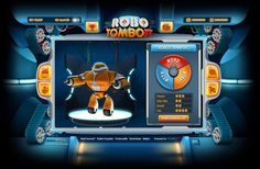 Robotombow by 41?29! , via Behance