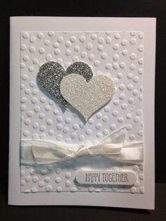 Wedding Card Ideas Making World- Wedding Card Making Ideas Wedding Cards Handmade, Greeting Cards Handmade, Handmade Engagement Cards, Handmade Stamps, Handmade Journals, Love Cards, Diy Cards, Valentine Day Cards, Holiday Cards