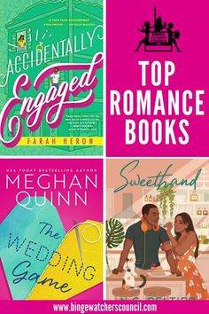 Check out the best new Romance books! Are they on your reading list? Binge Watchers Council. Just a collective group of nerds. We binge. Any TV show, movie, book, magazine, etc. that we can get our hands on. JOIN US! www.bingewatcherscouncil.com #bookrecommendations #bookstoread #bingewatcherscouncil #romance
