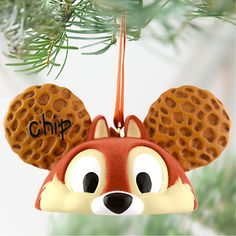 Limited Edition Ear Hat Chip 'n Dale Ornament
