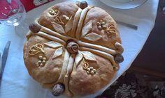 Χριστοψωμο Bread Recipes, Cooking Recipes, Xmas Food, Apple Cider, Breads, Deserts, Cookies, Baking, Christmas