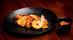 Prawns with Pineapple Salsa and Pineapple Prawn Oil