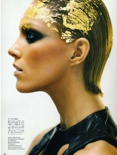 Gold is big for F/W 2012