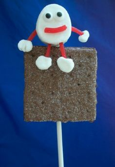 Kitchen Fun With My 3 Sons: Humpty Dumpty sat on a S'mores pop!