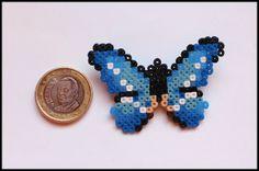 Butterfly - Broche mariposa Hama mini by TodoHama