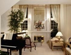 A grand piano makes an elegant focal point in a living room, and a classical, pre-World War II piano can significantly increase in value, making it a good financial investment. Arranging the rest of ...