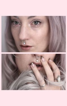 ohvex: grey days - new lens Madusa Piercing, Philtrum Piercing, Piercings, Smiley Piercing, Dimple Piercing, Love Fashion, Fashion Beauty, Body Modifications, Body Mods