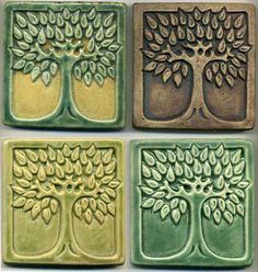 Art Nouveau Tile these are gorgeous Ceramic Tile Art, Clay Tiles, Art Tiles, Craftsman Tile, Craftsman Decor, Azulejos Art Nouveau, Art Nouveau Tiles, Art Deco, Style Tiles