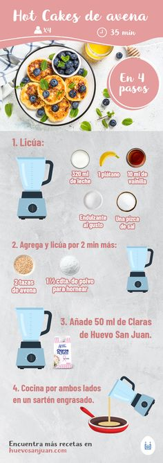 Easy Healthy Recipes, Baby Food Recipes, Easy Meals, Avena Recipe, Good Food, Yummy Food, Healthy Life, Cravings, Food And Drink