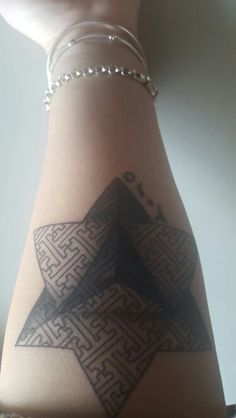 Pyramid tattoo -2015 arabic numerals