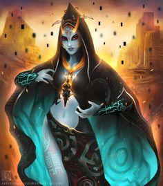 Midna by Jasqreate on DeviantArt The Legend Of Zelda, Legend Of Zelda Breath, Zelda Twilight Princess, Nintendo, Video Game Art, Video Games, Wind Waker, Manga, Batman