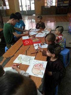 Caregiving program in HCMC, Vietnam. #VolunteerAbroad #HCMC #Vietnam
