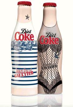 Jean Paul Gautier Diet Coke Bottles