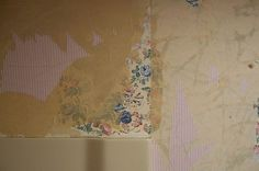 How to Remove Wallpaper Glue From Sheetrock Remove Wallpaper Glue, Removing Old Wallpaper, Home