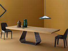 AMOND Mesa de madera Colección Amond by Bonaldo diseño Gino Carollo