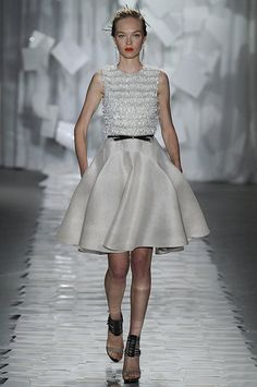 Another gorgeous Jason Wu dress featuring Swarovski Elements