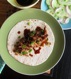 "How To Make Taco Recipe : Asian Pulled Pork Tacos (Slow-Cooker) with Sweet and Spicy ""Barbecue"" Sauce"