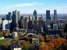 Montreal, Quebec.  Went there when I was 19 and it was amazing.  One day I will get back.
