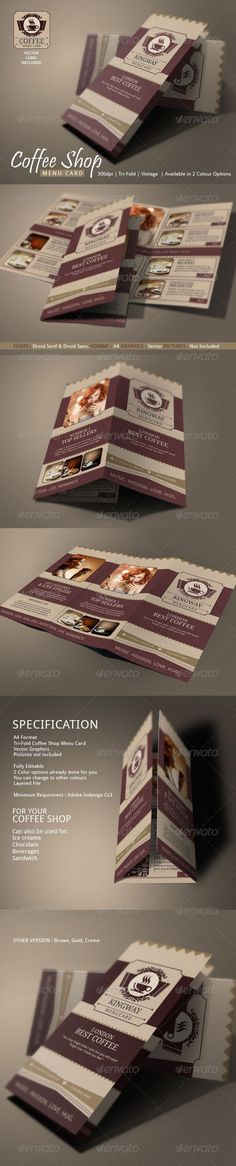 indesign-template-coffee-menu    wwwdesignfreebiesorg design - coffee shop brochure template