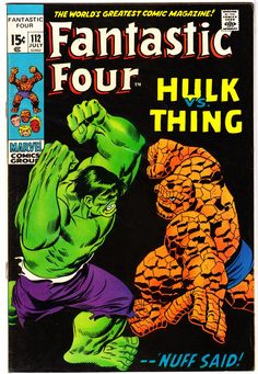 Fantastic Four (1961) No. 112