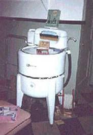 Les premières machines à laver