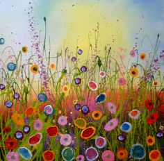 'You are my sweetest love' by Yvonne Coomber, 50x50cm, £880 (£88 a month with Own Art) at www.lyndhurstgallery.co.uk. Hampshire, UK.