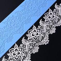 Paisley dentelle Silicone Fondant Glaçage Moule Gâteau Moule Décoration Tapis