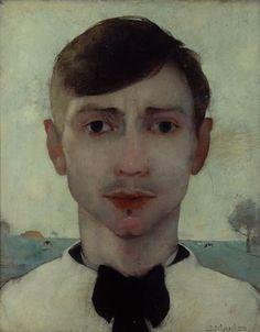 Jan Mankes, selfportrait (1913)