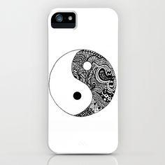 Yin Yang iPhone & iPod Case