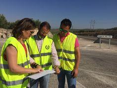 La Junta invierte 155.000 euros en seguridad vial en la A-311 entre Jaén y Fuerte del Rey