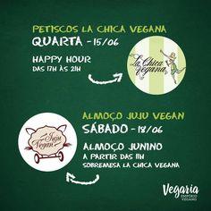 Recife: Petiscos La Chica Vegana e Almoço Juju Vegan   Vegaria Empório Vegano - Rua Barão de Souza Leão, 221 Produtos veganos são feitos sem nenhum componente de origem animal, seja secreção (leite, ovos, etc), corpos (carne, pele, ossos, etc) ou tortura (ex.: testes laboratoriais). Podem ser consumidos por intolerantes à lactose e alérgicos ao leite (APLV).   #veganismo  #vegetarianismo #eventovegano  #eventovegetariano #vegano #vegana #vegetariano #vegetariana #govegan #vegan #veganismoBr