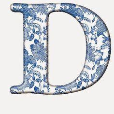 "Photo from album ""Голубой шелк"" on Yandex. Alphabet Style, Alphabet Art, Monogram Alphabet, Alphabet And Numbers, Monogram Initials, Polish Words, English Alphabet, Sewing Material, Floral"