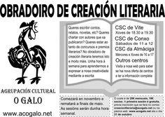 Obradoiro de Creación Literaria 2013/2014