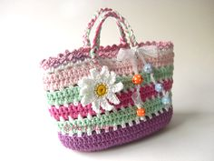 Crochet Bag Pattern - MJM Crafts