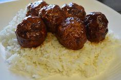 Being Bracco: Sweet & Sour Meatballs - Appetizer?