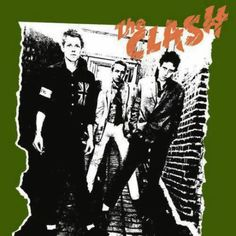 the clash cd cover by R.Shaybo more about this designer http://www.artispeople.com.pl/uncategorized/the-cd-rebels-two-polish-designers-who-changed-cover-graphics-part-1/