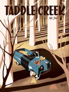Taddle Creek magazine cover /// by pascal blanchet