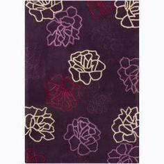 Hand-tufted Mandara Wool Rug (5' x 7')