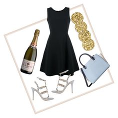 """""""Happy hour"""" by katiefoge ❤ liked on Polyvore featuring Emporio Armani, Valentino, MICHAEL Michael Kors and Kate Spade"""
