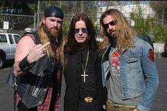 Zak, Ozzy and Rob Zombie
