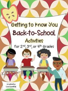This packet is full of fun and engaging activities to help your students get to know each other at the beginning of the school year.