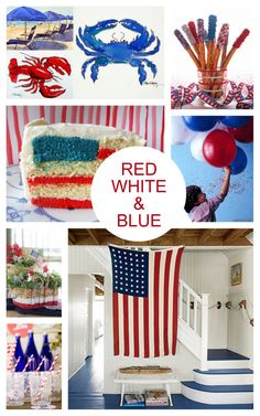 Bring on the American flags, festive banners, sparklers and great recipes #FourthofJuly #Summer