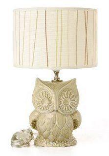 munaluna: tree owl lamp