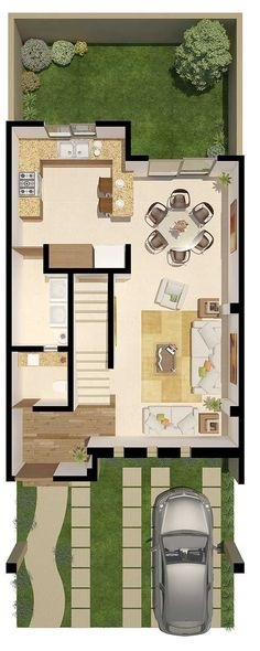Casas modelos #casasminimalistaschicas