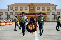 El director general de la Guardia Civil preside la entrega de títulos de empleo y diplomas a las nuevas promociones de Suboficiales y de Guardias Civiles Guardia Civil Baeza (Jaén), 09/06/20…