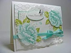 Stippled Blossoms Retirement Stampin' Up!