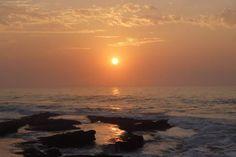Sunrise at St. Ocean Photography, Landscape Art, Sunrise, Africa, Celestial, Star, Beach, Outdoor, Rising Sun