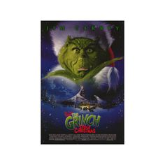 Dr. Seuss' How the Grinch Stole Christmas Poster ($22) ❤ liked on Polyvore featuring home, home decor, wall art, christmas home decor, movie wall art, christmas posters, christmas wall art and movie posters