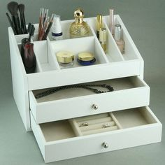 Mila Jewelry & Cosmetic Box - Pretty & Pampered on Joss and Main