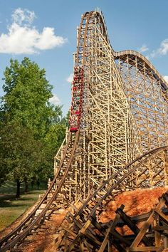 OutLaw Run has become the Ride of Choice at Silver Dollar City in Branson, MO.
